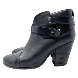 Rag and Bone Harrow Leather Ankle Boots